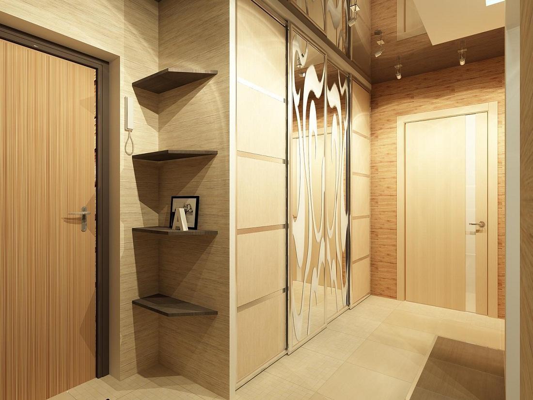 Площадь прихожей в квартире: ширина коридора по нормам, размеры в доме, чертежи минимальные индивидуальные