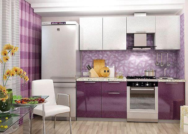 Благодаря оптимальным размерам модулей, кухню можно установить как в типовых, так и в нестандартных помещениях
