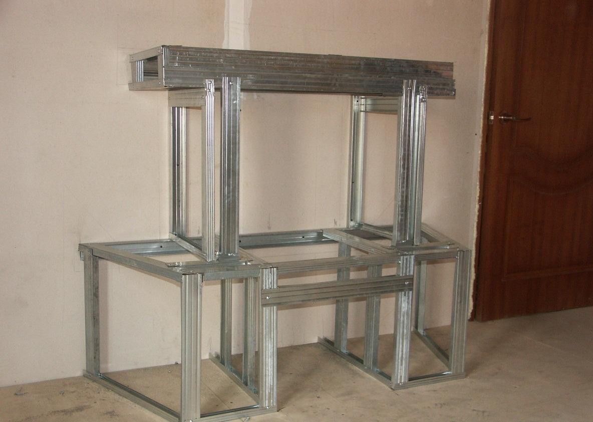 Материалы для изготовления камина можно купить в любом строительном магазине