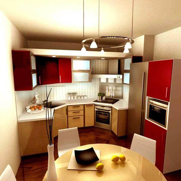 Кухни с небольшой площадью в частных домах встречаются крайне редко