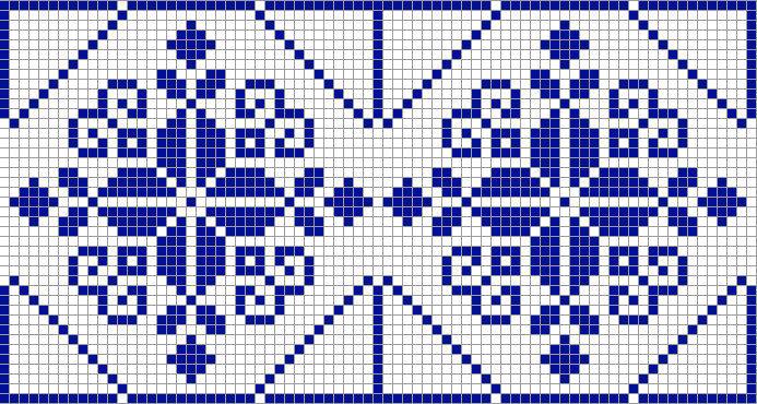 Геометрическими узорами очень часто украшают полотенца для ритуалов
