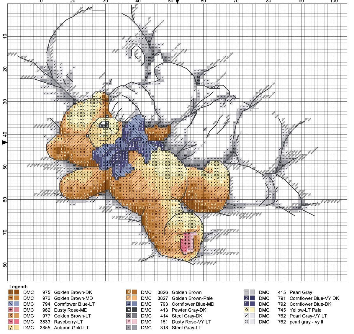 Вышитый спящий ребенок с плюшевой игрушкой станет хорошим подарком для молодой матери