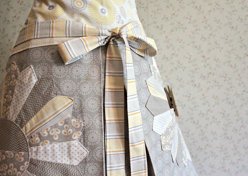 Ткань для фартука обязательно должна быть практичной