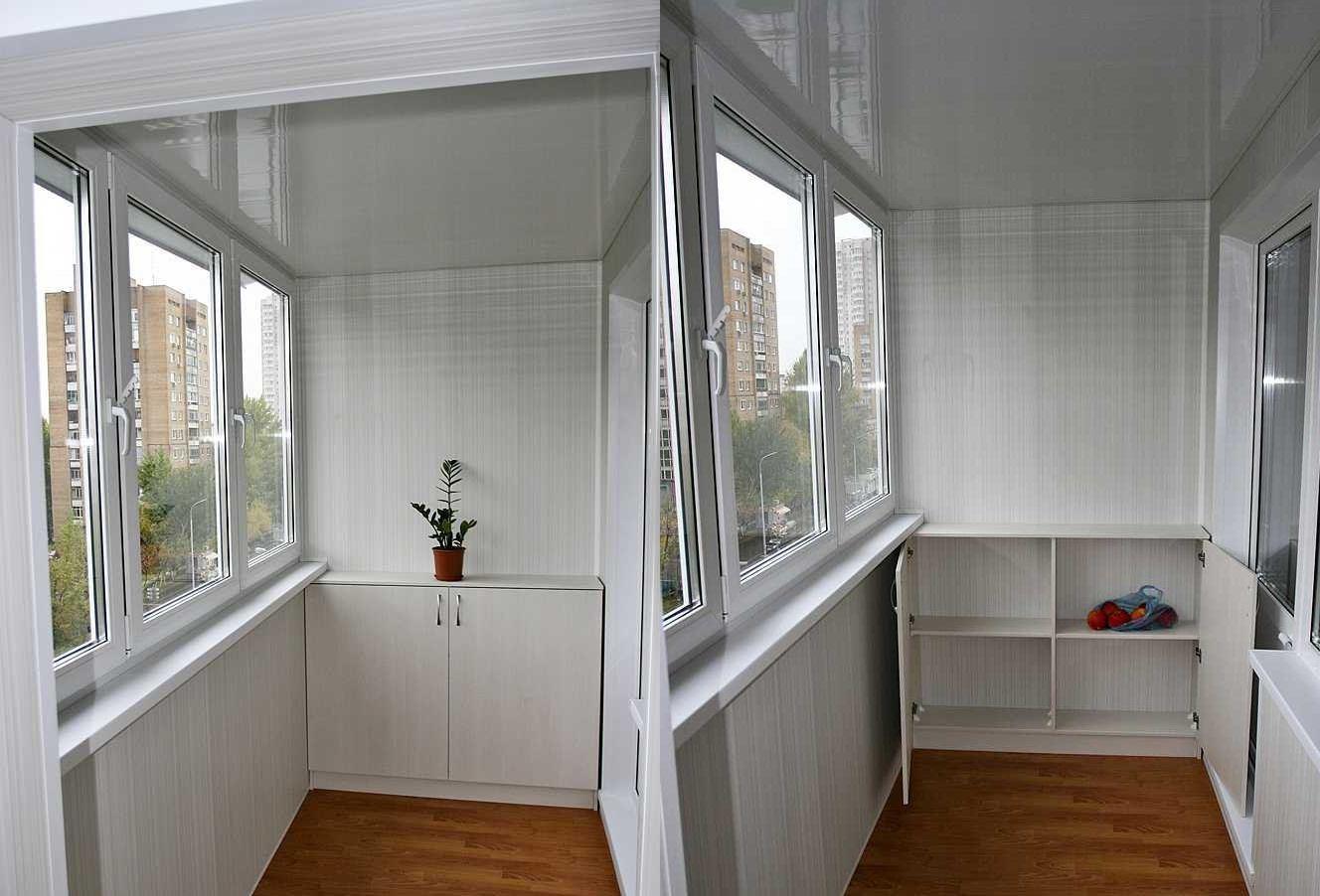 Балкон как кладовая - одно из самых популярных решений