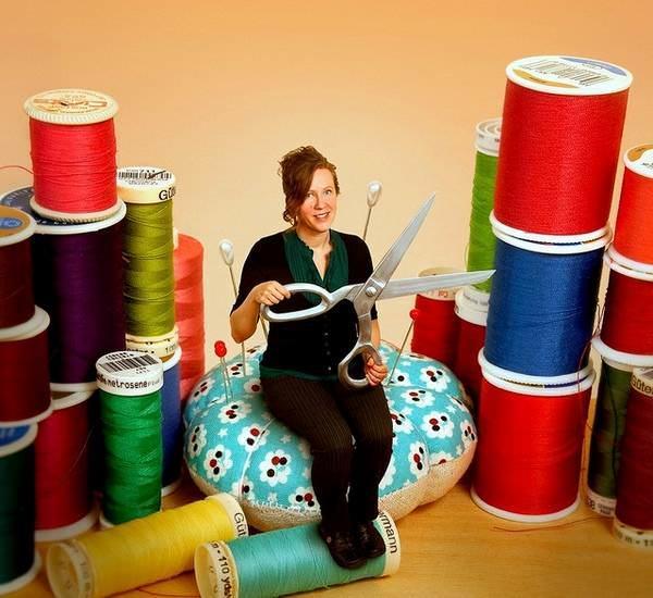 Kirsten Chursinoff – первая художница, начавшая свое творчество в данном направлении
