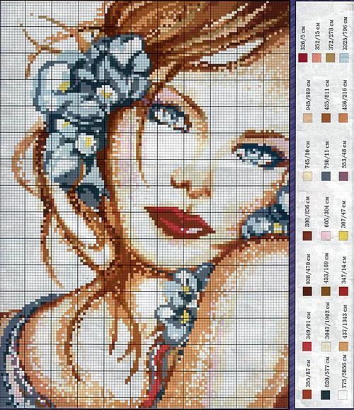 В сети можно найти схемы для вышивания крестиком на любой вкус