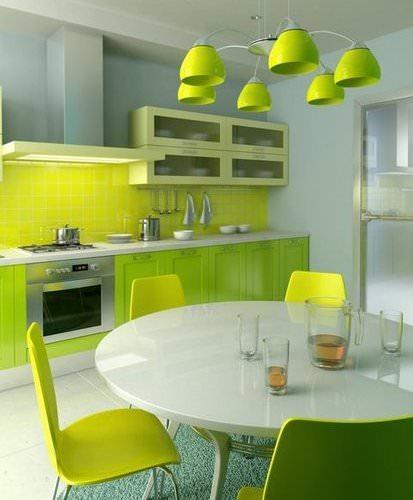 Зеленый цвет действует умиротворяюще на психическое состояние человека