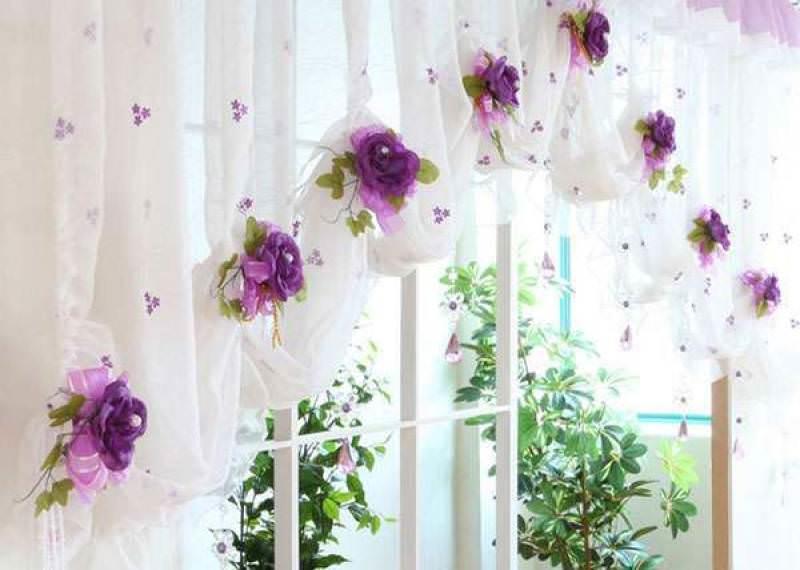 Текстильный декор сделает вашу кухню значительно уютнее