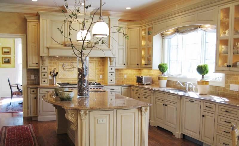 Декор для кухни в эко-стиле можно вырастить самостоятельно