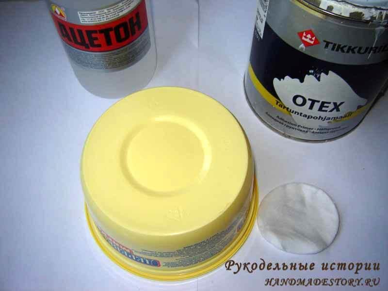 Чтобы сделать кашпо для топиария, можно использовать одноразовый стакан, пластиковую или стеклянную банку, чашку и т.д.