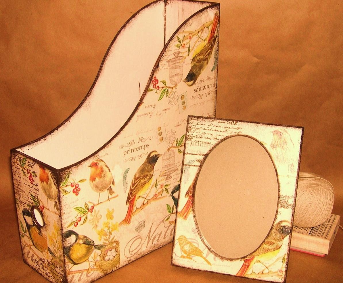 Декупаж журнального столика: салфетками своими руками, фото журнальницы, мастер-класс в бирюзовом цвете, видео