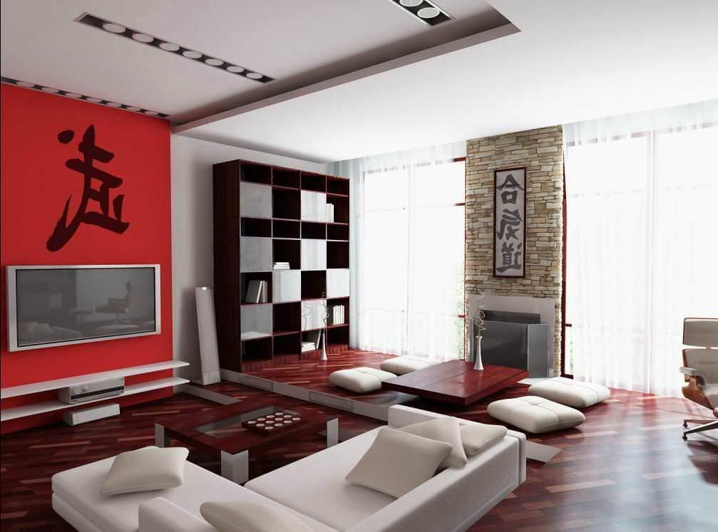 Японский стиль лишен лишних деталей и пафоса: в нем все в меру, и оформить интерьер в данном стиле достаточно недорого