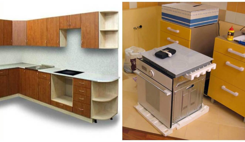 ДСП - недорогой материал, из которого может выйти дизайнерский вариант кухни