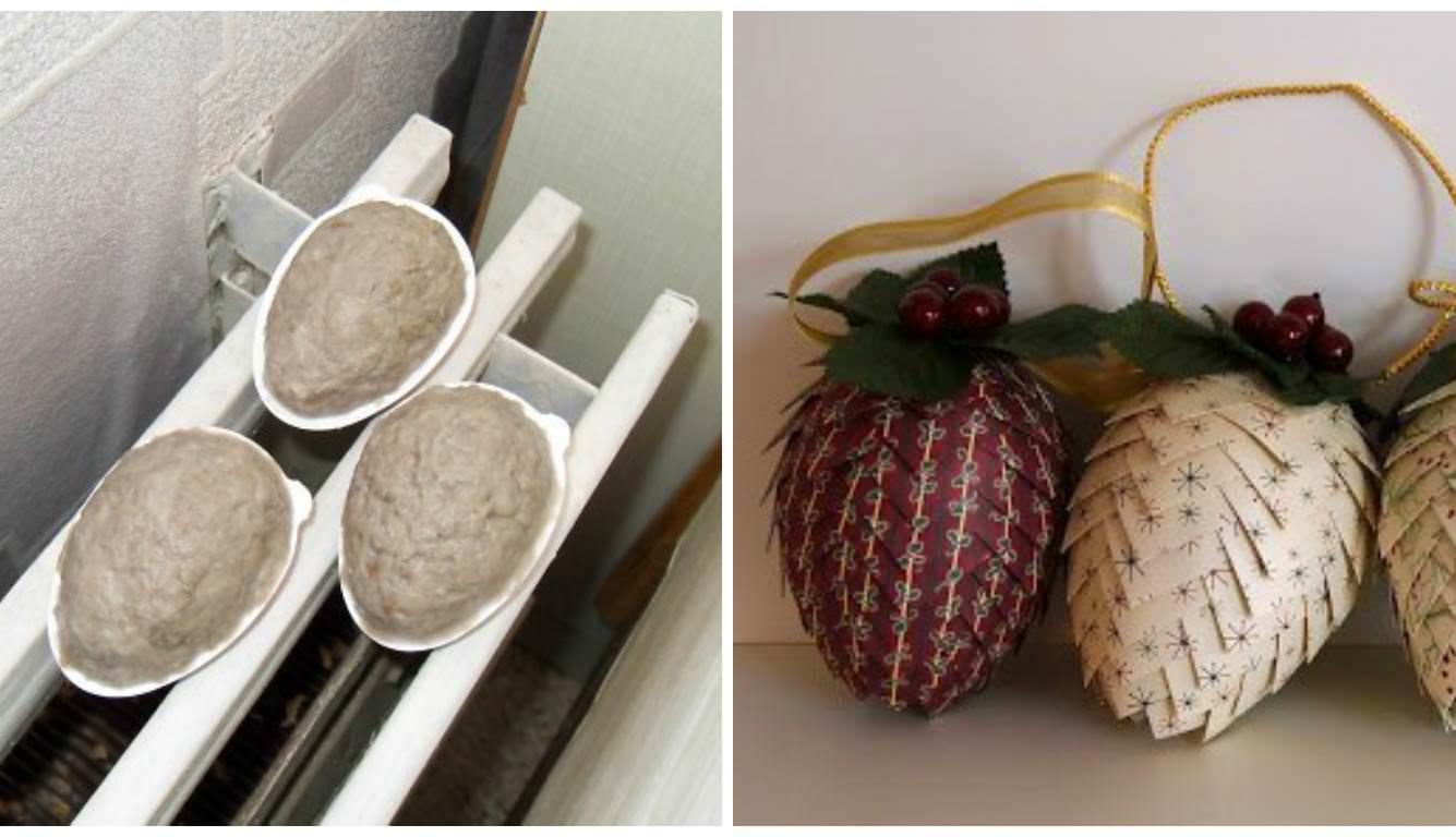 Обьемные поделки из папье-маше станут отличным украшением вашего декора