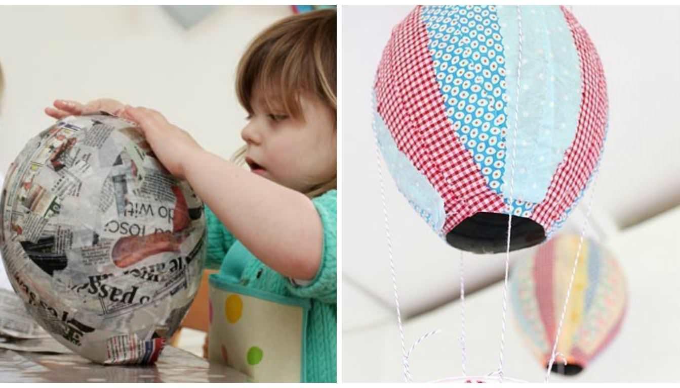 Газета и воздушный шарик смогут украсить ваш интерьер
