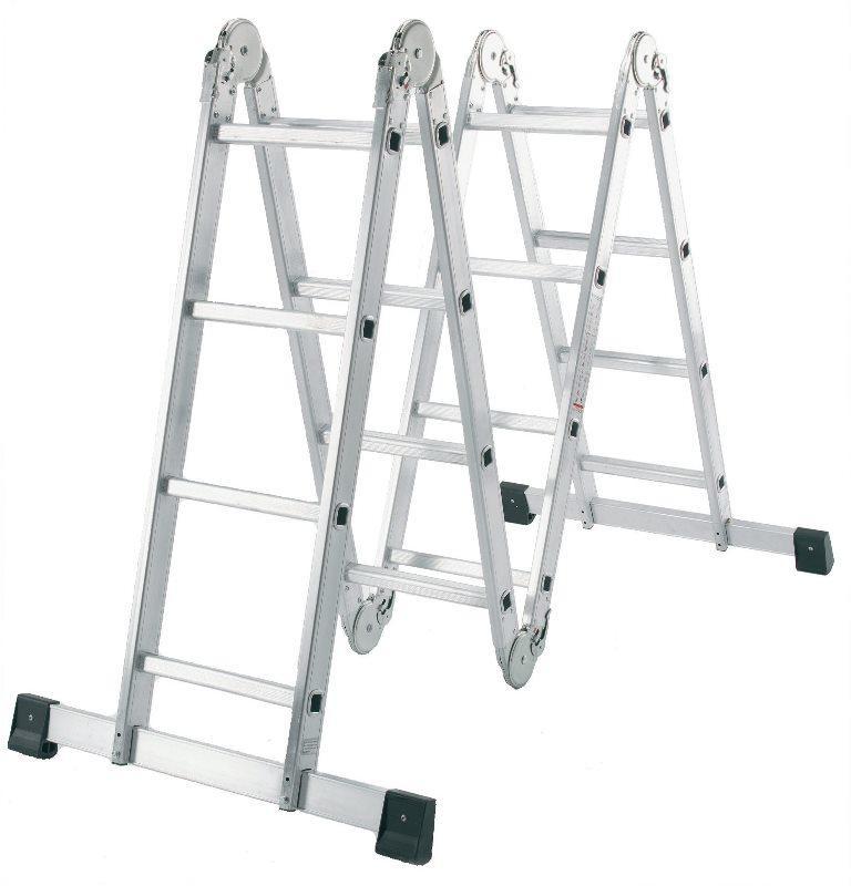 Алюминиевые лестницы-трансформеры: Алюмет 4х4, отзывы о 4х6, 4х5 т455 и 4х3 шарнирная, 444 и 455, т433 4x3