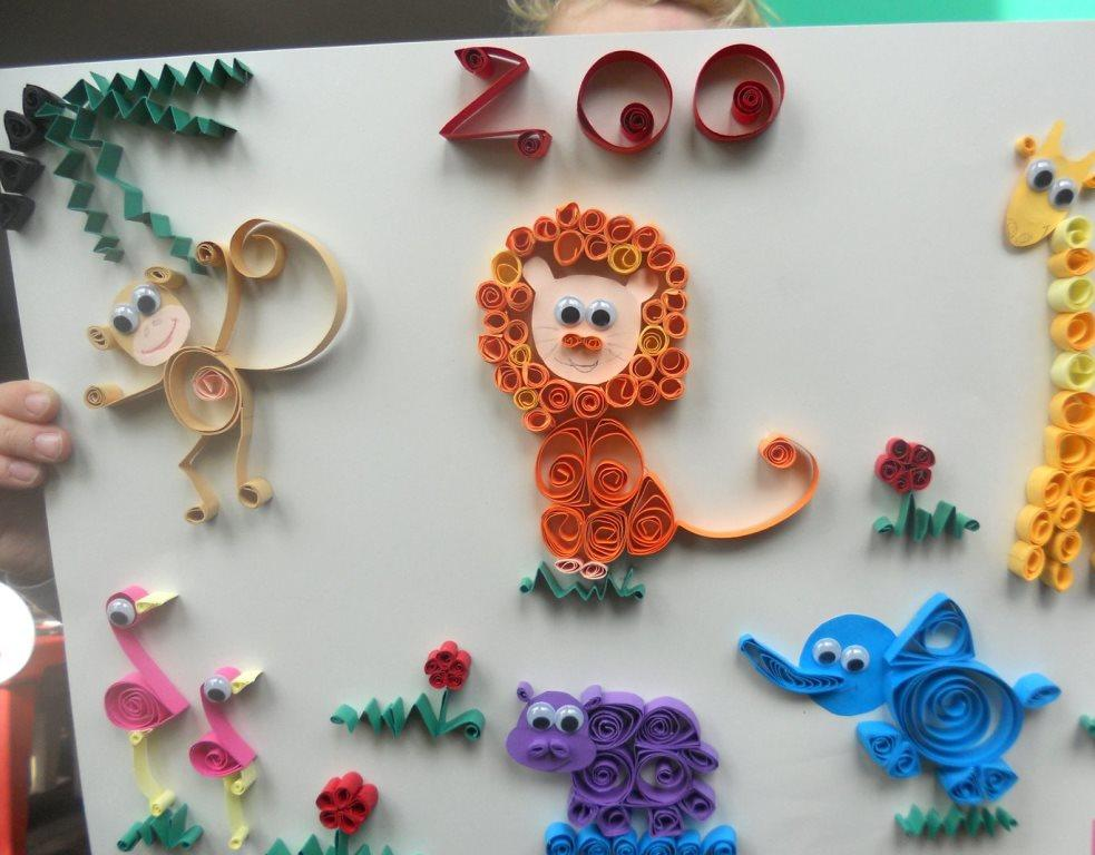 Смастерить картину из квиллинга под силу даже ребенку, главное — заранее подготовить все необходимые материалы, включая картон, бумагу и клей