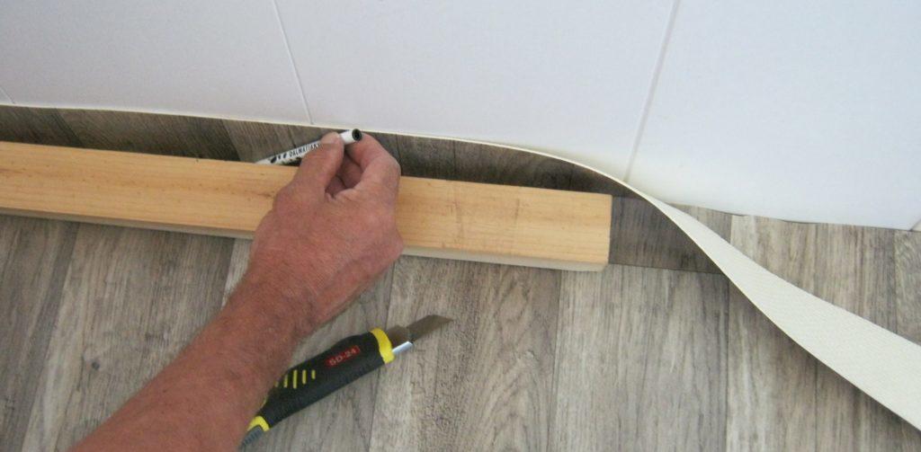 Настилка линолеума на бетонный пол