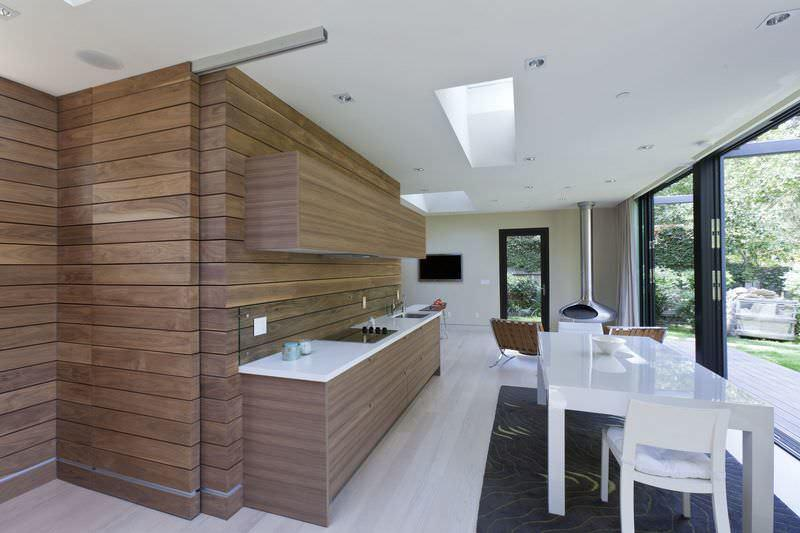 Вагонка из МДФ идеально дополнит кухонный интерьер