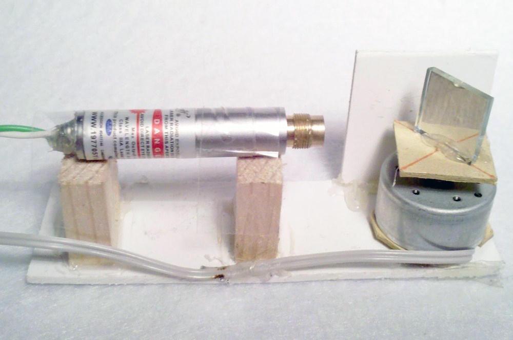 Материалы для изготовления лазерного уровня можно заказать в интернете