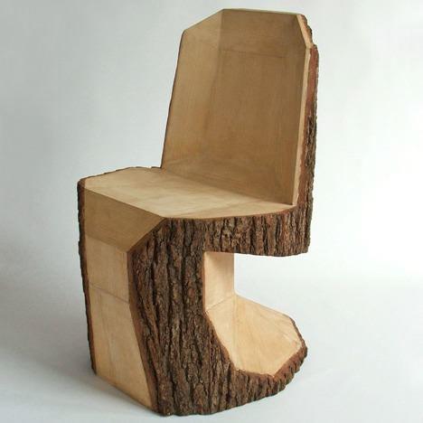 Подобная мебель подобна скульптуре - никого не оставит равнодушным