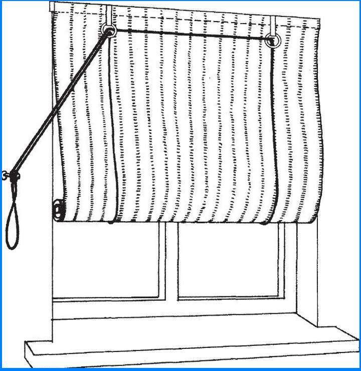 Схема простого подъемного механизма, наиболее легкого в изготовлении