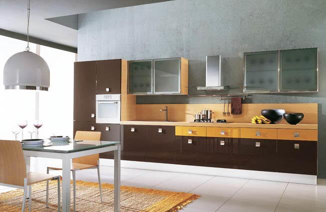 Площадь кухни в 15 кв. м позволяет реализовать практически любую планировку