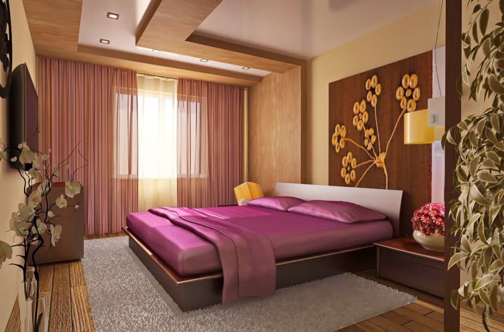 Обязательными элементами мебели в каждой спальне являются кровать и стильная прикроватная тумбочка