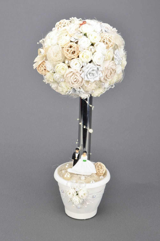 В качестве основы для топиария можно использовать шар, сделанный из папье-маше