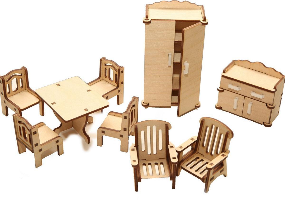 Среди преимуществ мебели из дерева для кукол стоит отметить длительный срок службы и экологичность