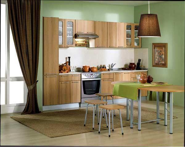 Модульная кухонная мебель позволяет претворить в жизнь любые дизайнерские решения в интерьере вашей кухни