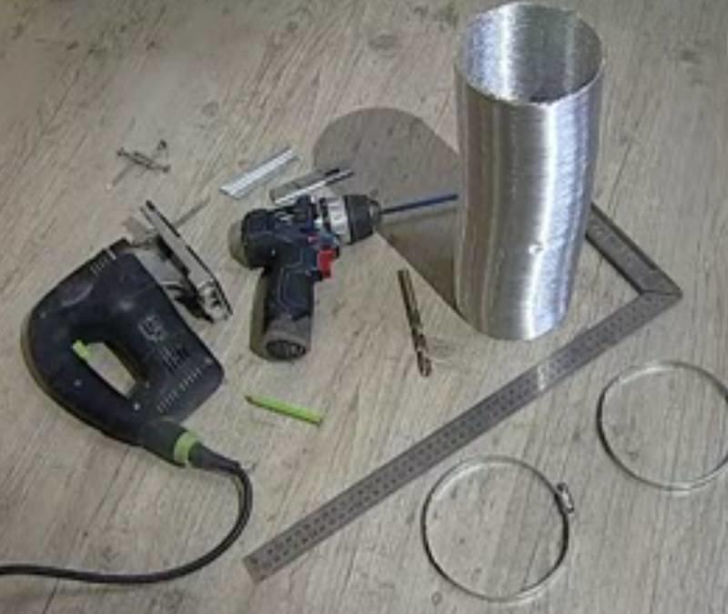 Перед началом работ обязательно нужно подготовить все необходимые инструменты и материалы