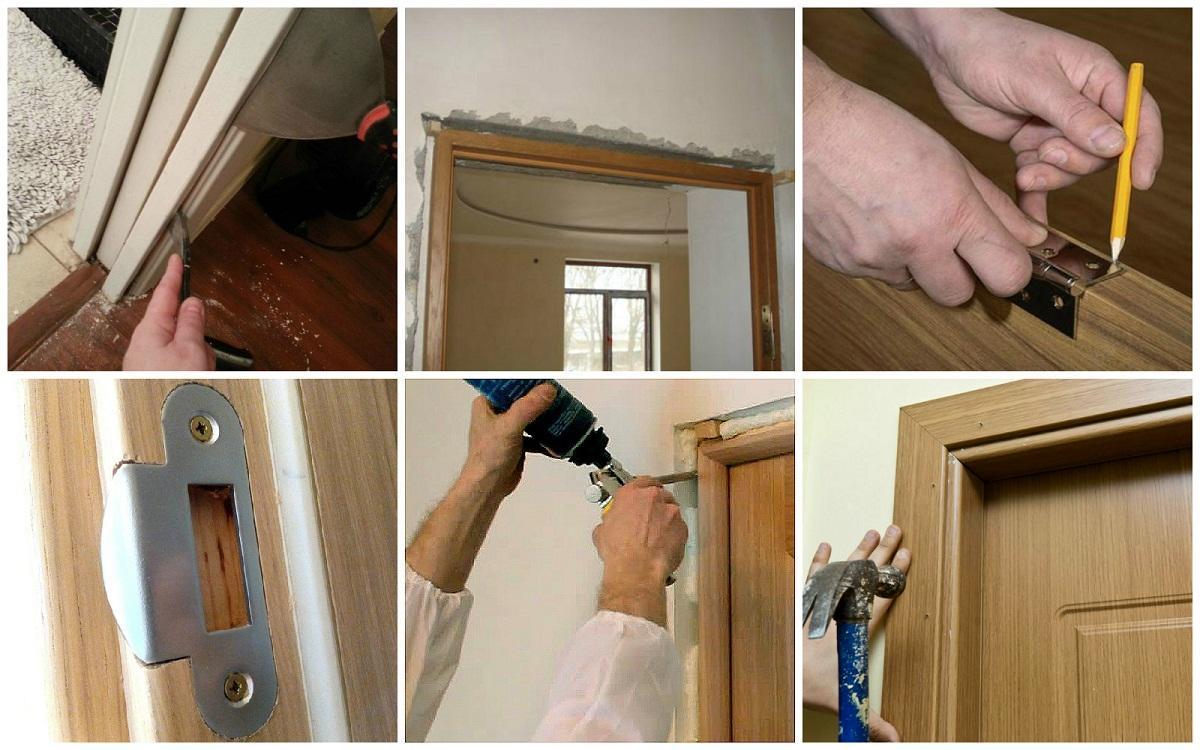 Если вы не имеете опыта монтажа межкомнатных дверей, то можно обратиться за помощью к профессионалам, которые выполнят работу быстро и качественно