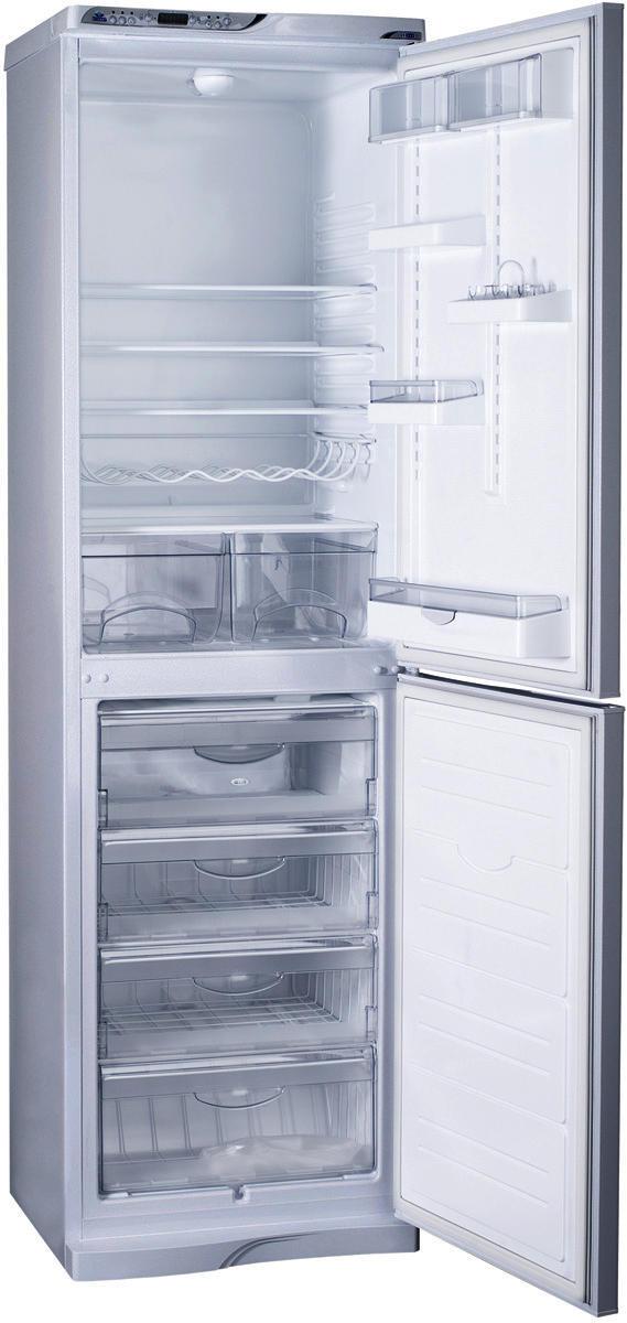 Новейшая технология, такая как система No Frost, обеспечивает комфорт при использовании и позволяет забыть о регулярном размораживании