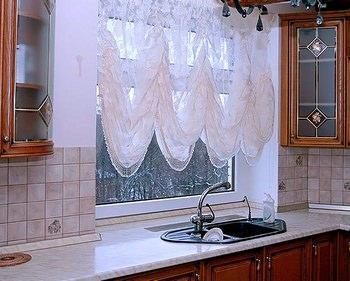 Французская штора может найти свое применение не только в интерьере гостиной