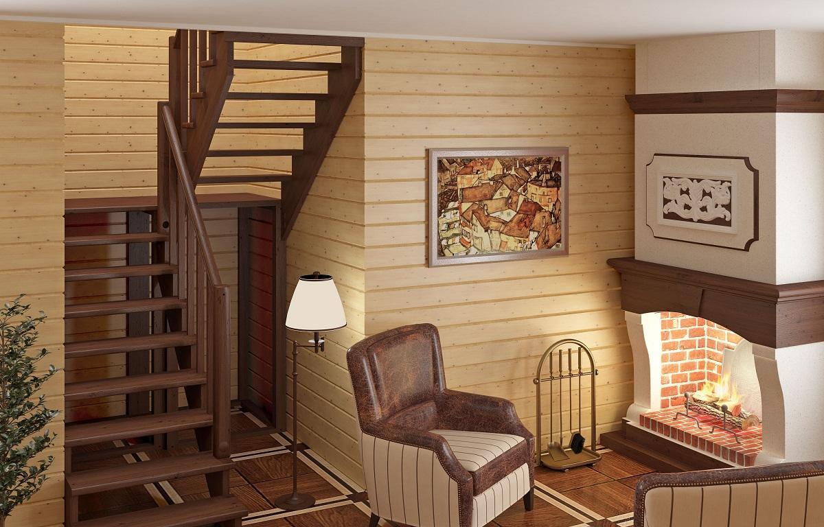 П-образные лестницы, оснащенные площадкой, позволяют поднимать и спускать большие предметы, например, мебель