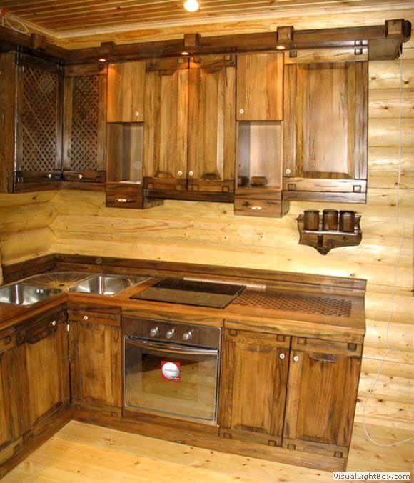 Кухня под старину создаст неповторимую атмосферу в вашем доме