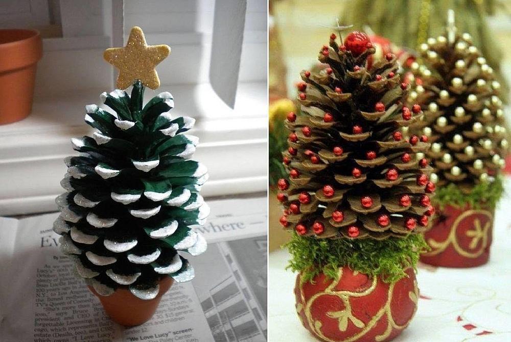 Из шишек каждый желающий сможет сделать красивый подарок на любой праздник без больших финансовых затрат
