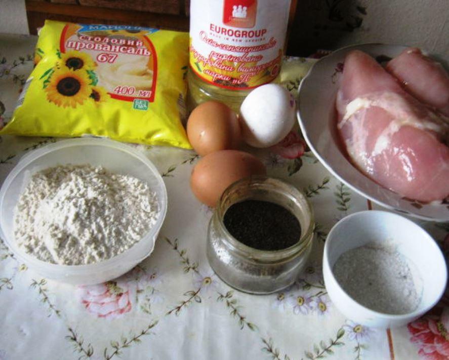 Для начала следует подготовить все необходимые продукты