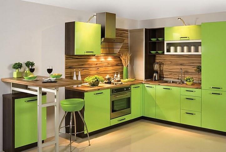 Угловой кухне все еще отводится важная роль в интерьерной моде