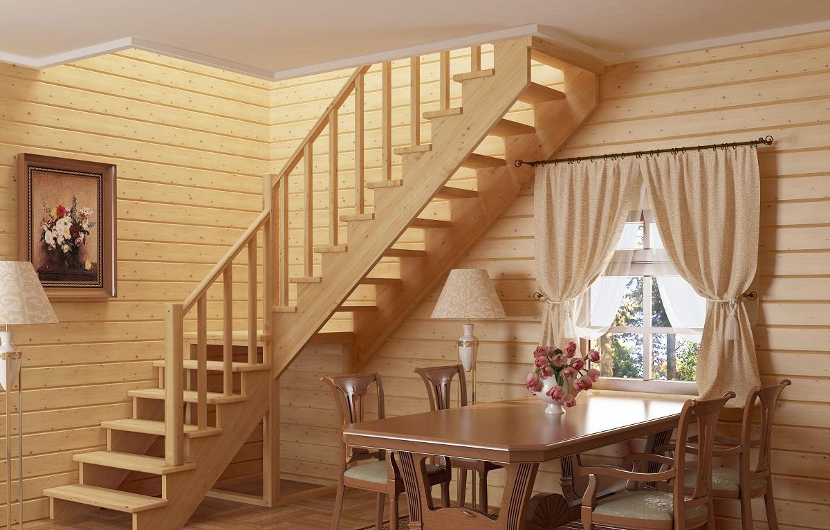 Готовые межэтажные лестницы можно приобрести в строительном магазине или заказать в интернете