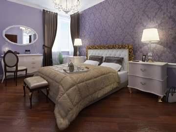 Очень важно сочетание цветов в интерьере спальни
