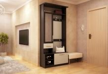 Дизайн малогабаритной прихожей в квартире