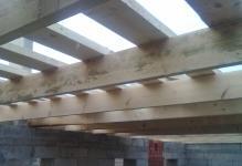 Пирог межэтажного перекрытия по деревянным балкам