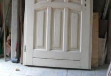 Восстановление межкомнатных дверей своими руками