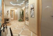 dizajn-pola-v-koridore-iz-plitki