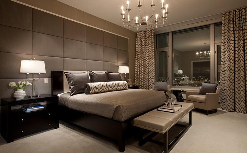Дизайн мужской спальни может быть любым, главное, чтобы мужчине было комфортно