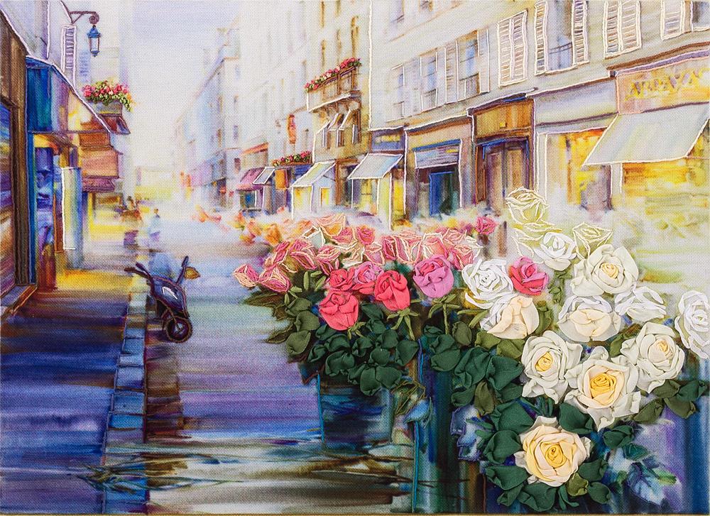 Вышить красивую картину с цветами несложно, главное – приобрести все необходимые материалы для работы и определиться с рисунком композиции