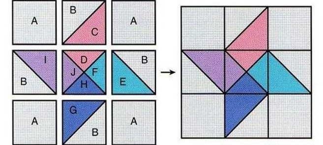 Составление схемы блока для одеяла зависит от ваших навыков в данном направлении