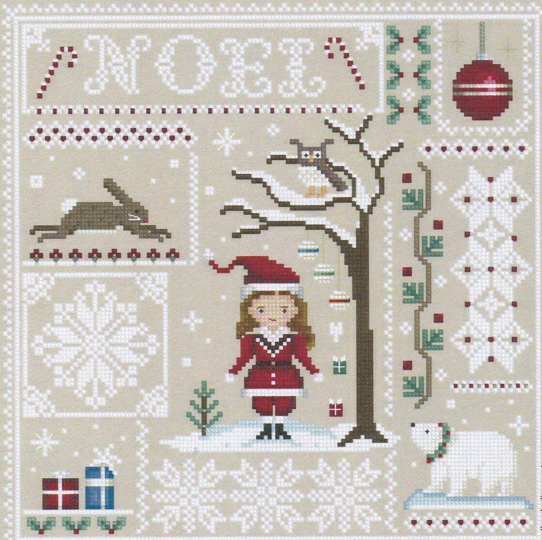 Сделать вышивку Сэмплер оригинальной и креативной можно при помощи праздничного поздравления на полотне